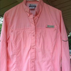 Columbia Women's Hiking Button down Shirt